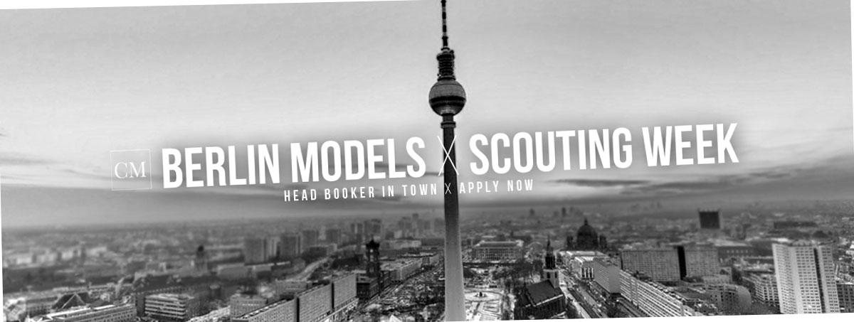 Models Berlin: Semana Scout Head Booker en septiembre