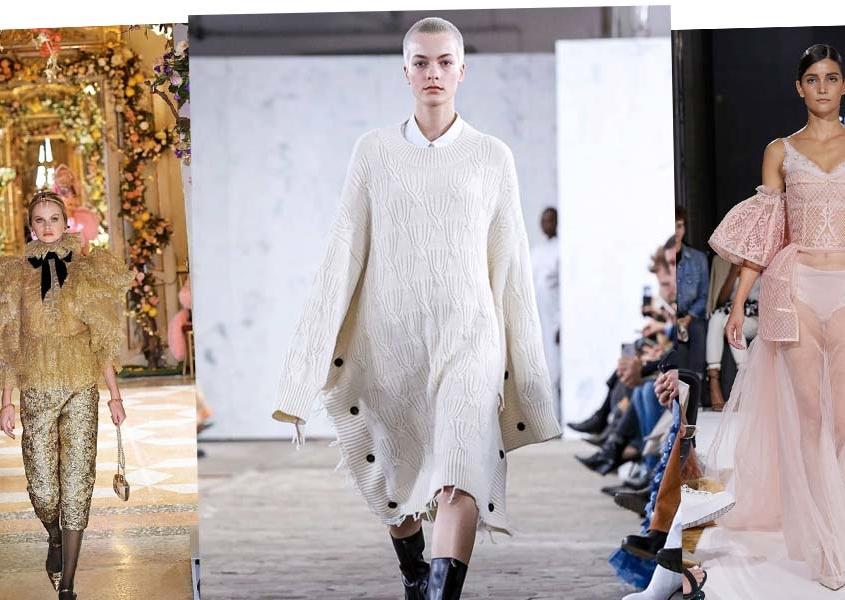 Semana de la Moda de París - Adelina, Klara & Linn Las modelos de Cocaína en vivo